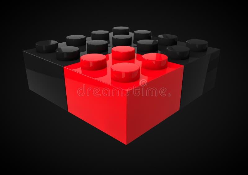 Dirección del negocio estratégica y concepto Metap de la posición competitiva imagenes de archivo