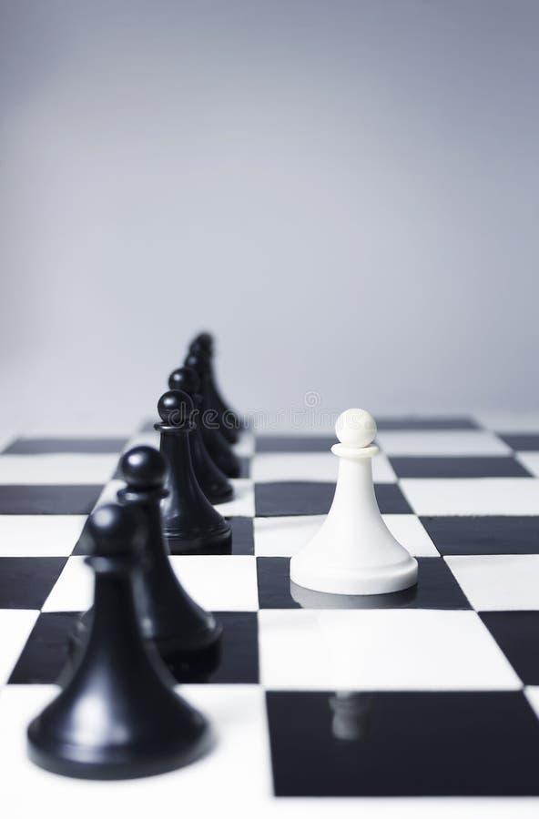 Dirección en ajedrez foto de archivo libre de regalías