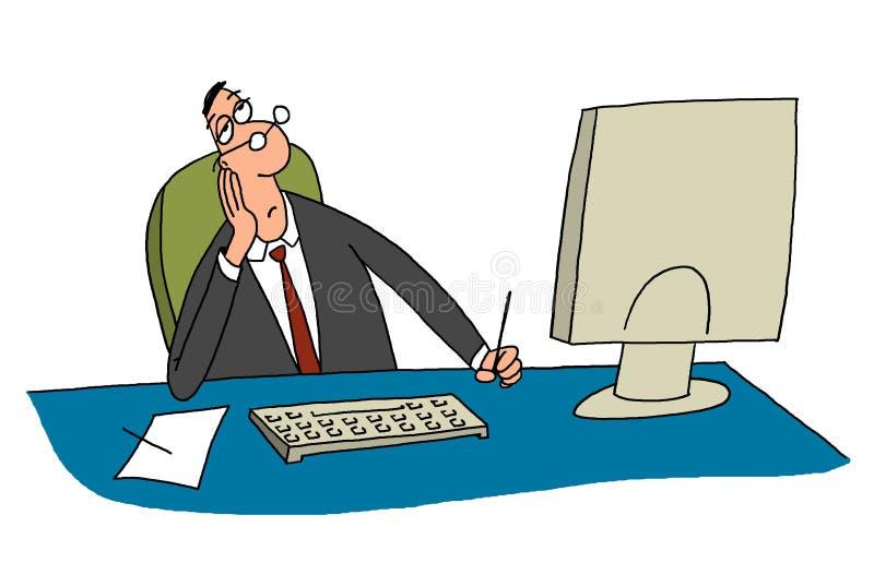 Directeur illustration stock