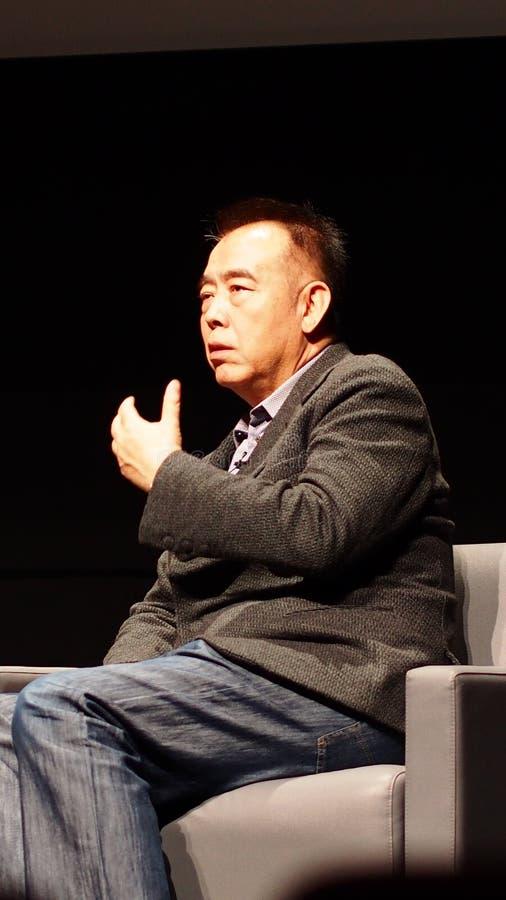 Directeur Chen Kaige royalty-vrije stock foto