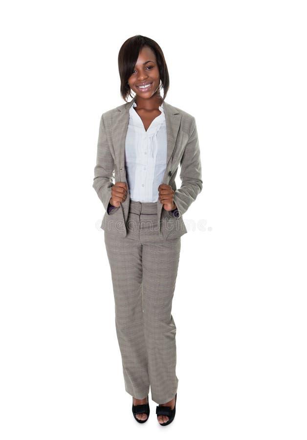 Directeur de femelle d'Afro-américain image stock