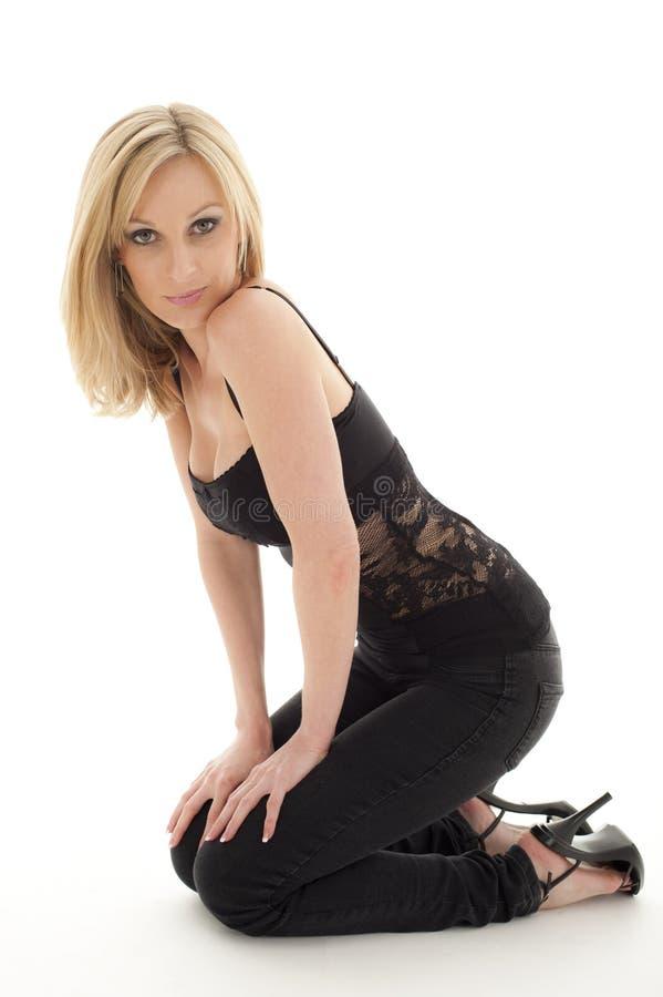 Directeur femelle sexy images stock