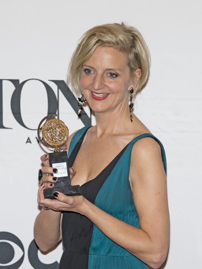 Directeur Marianne Elliott Wins chez soixante-neuvième Tony Awards annuel en 2015 photo stock