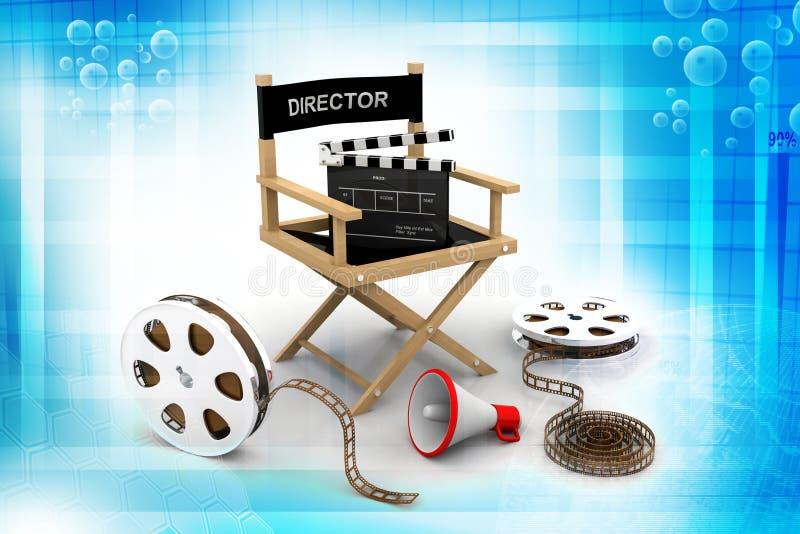 Directeursstoel vector illustratie