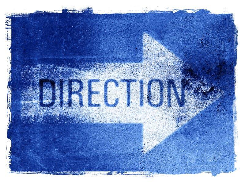 Direction Arrow royalty free illustration