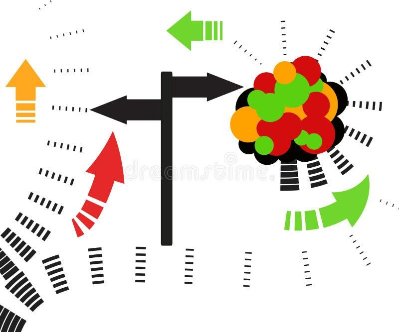 Download Direction board stock illustration. Illustration of city - 2610435