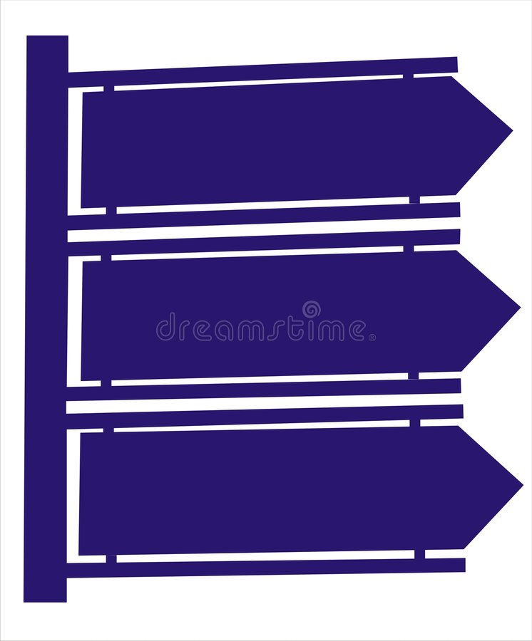 Download Direction Indicator Royalty Free Stock Images - Image: 2662769