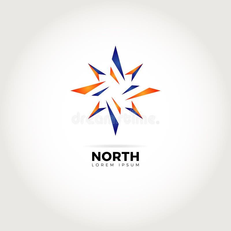 Direction Logo Symbol Icon d'abrégé sur étoile illustration libre de droits