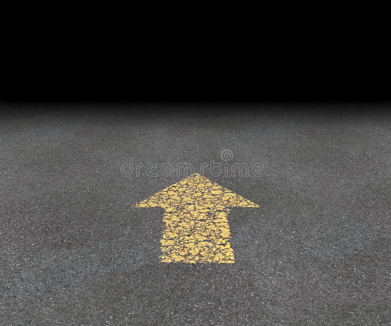 Download Direction Road Arrow stock illustration. Image of infinity - 26238827