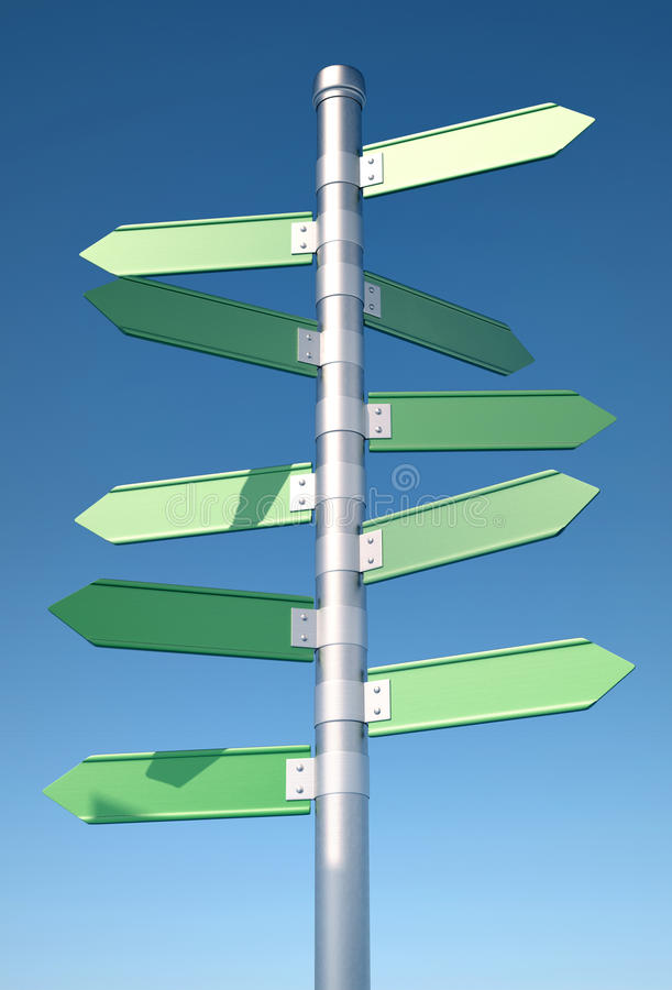 Direction Sign Royalty Free Stock Photo