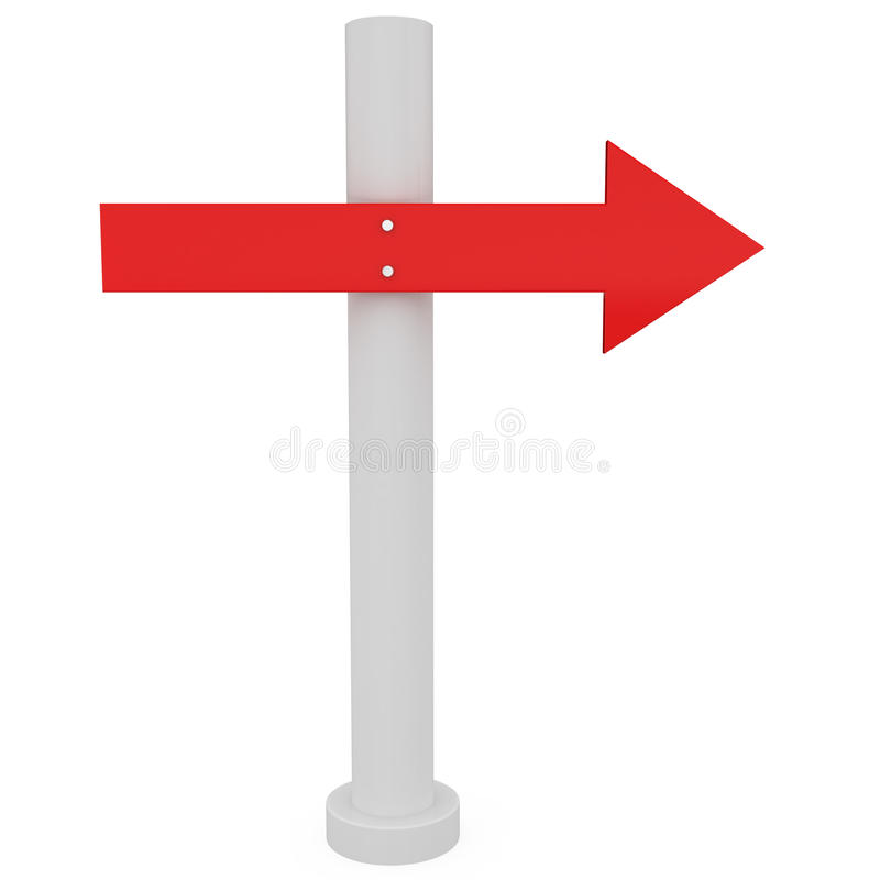 Download Direction Sign stock illustration. Image of question - 17781367