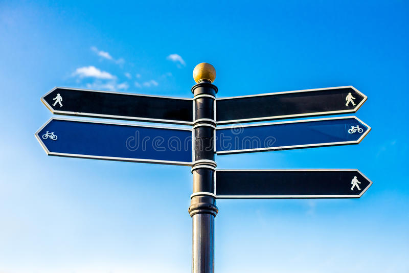 Download Direction Signs stock image. Image of arrow, indicating - 38186741