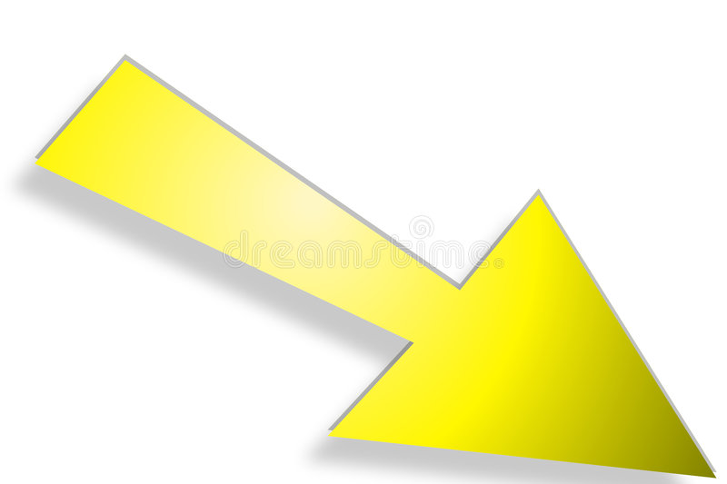 Download Directional arrow stock illustration. Image of towards, away - 80955