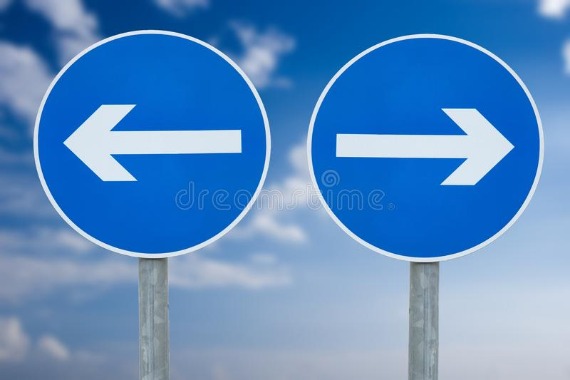 Directions stock image
