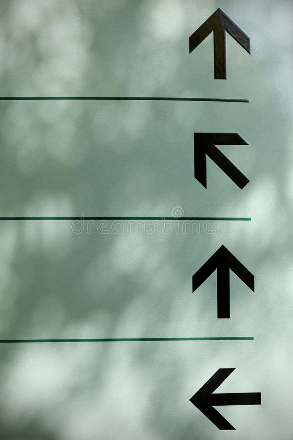 Directions Arrows royalty free stock image