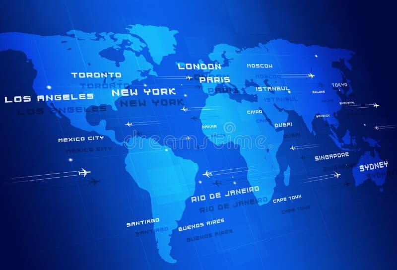 Directions de Global Aviation image libre de droits