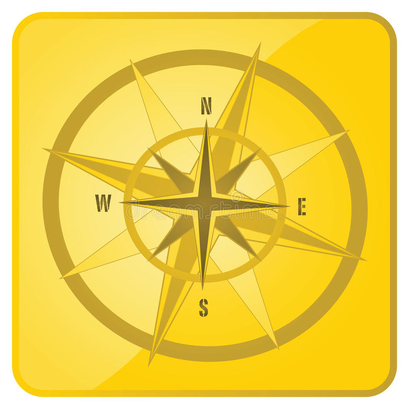 Download Directions icon stock vector. Image of compass, icon - 19323042