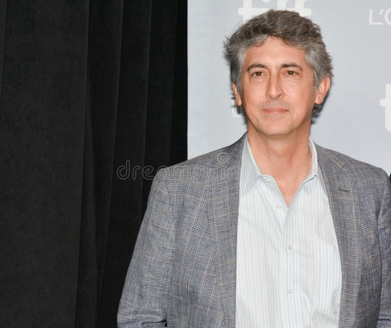 Director Alexander Payne `Downsizing` Premiere at Toronto International Film Festival 2017. Director Alexander Payne at press conference for `DownDirector royalty free stock images