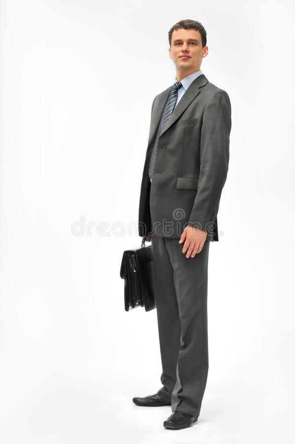 Director with the briefcase stock photography