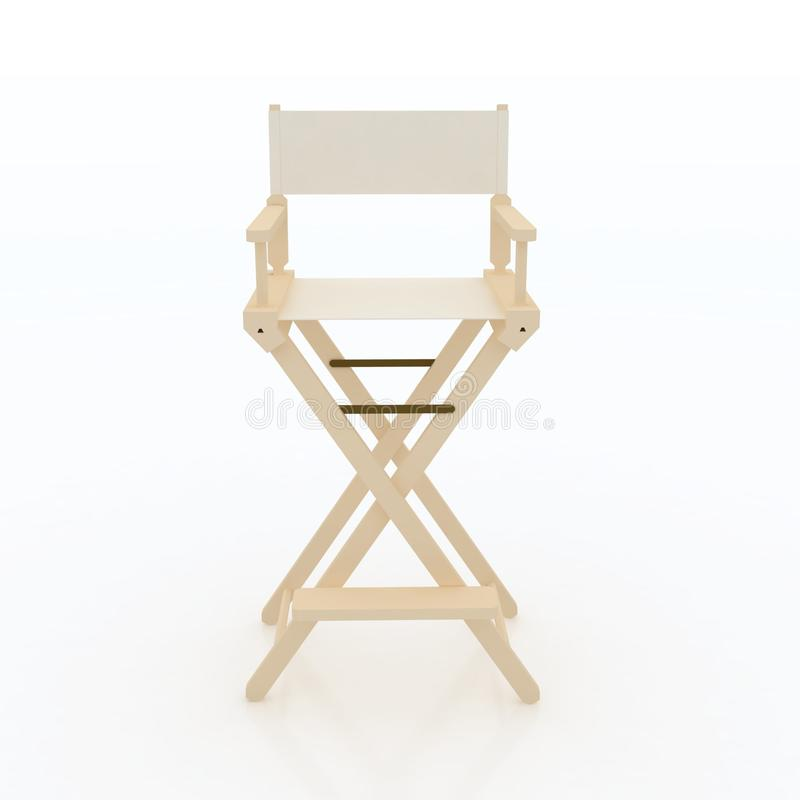 Director Chair. royalty free illustration