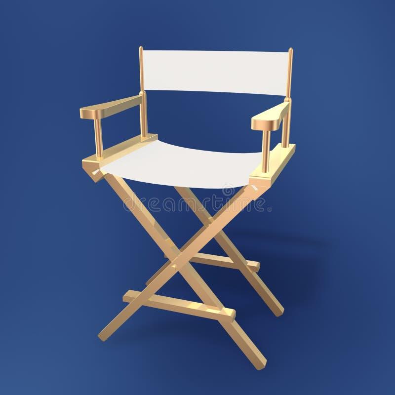 Director chair stock illustration