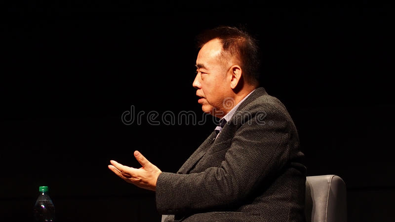 Director Chen Kaige royalty free stock photography