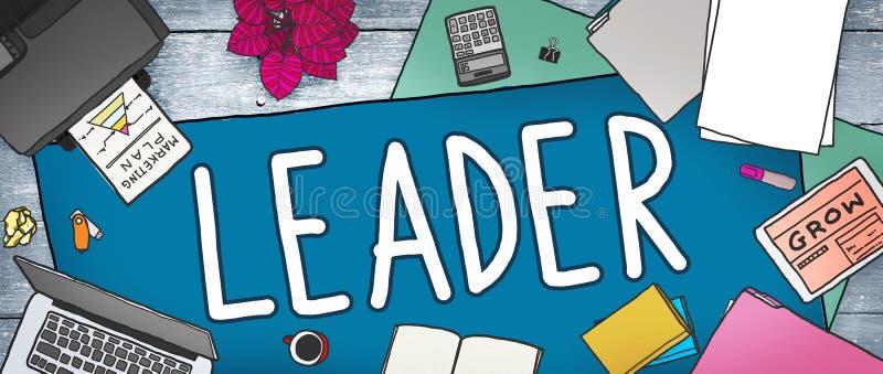 Director Concept de Leadership Manager Management del líder stock de ilustración