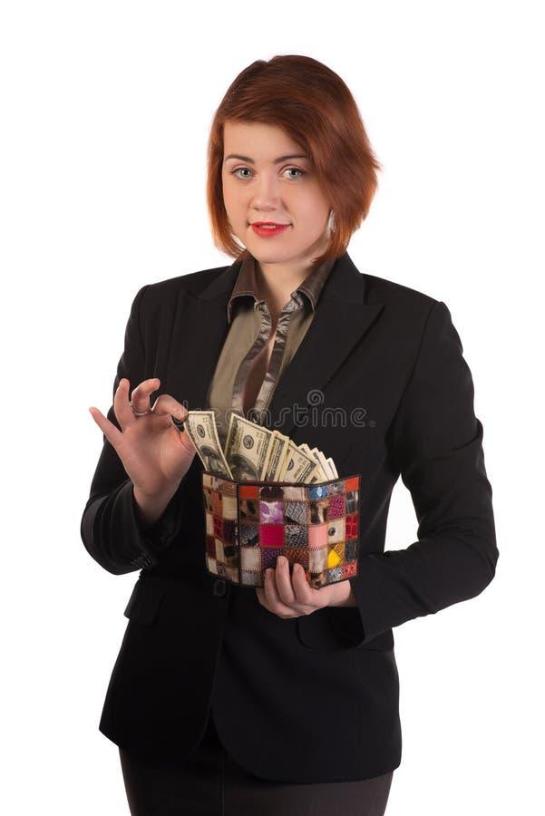 director de las finanzas imagen de archivo