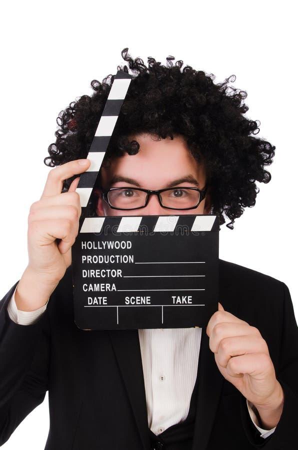 Director de película divertido imagen de archivo