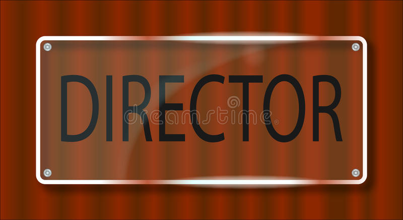 Download Director Door Plaque Stock Illustration - Image 50887343  sc 1 st  Dreamstime.com & Director Door Plaque Stock Illustration - Image: 50887343 pezcame.com