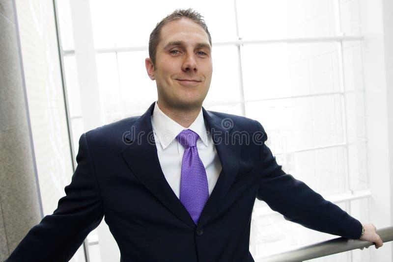 Director empresarial confidente fotografía de archivo
