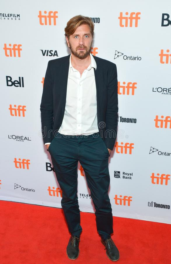 Director Ruben Ostlund at`The Square` premiere. Director Ruben Ostlund attend `The Square` premiere during the 2017 Toronto International Film Festival at The stock image