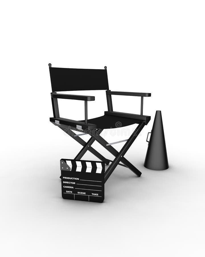 Director's chair stock illustration