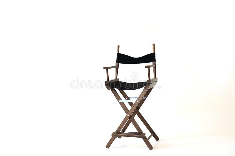 Director`s Chair isolated on white background. isolated stock photo