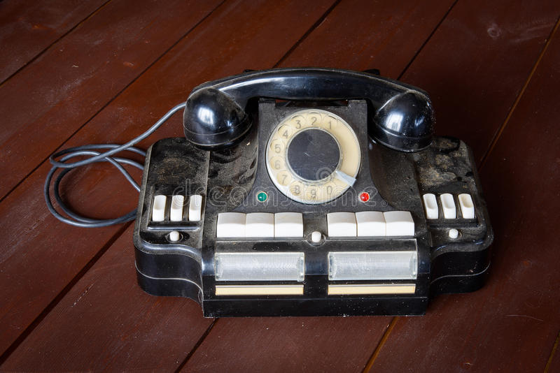 The Director`s phone-to-hub CD-6. Connection of up to six city or local phone lines royalty free stock image