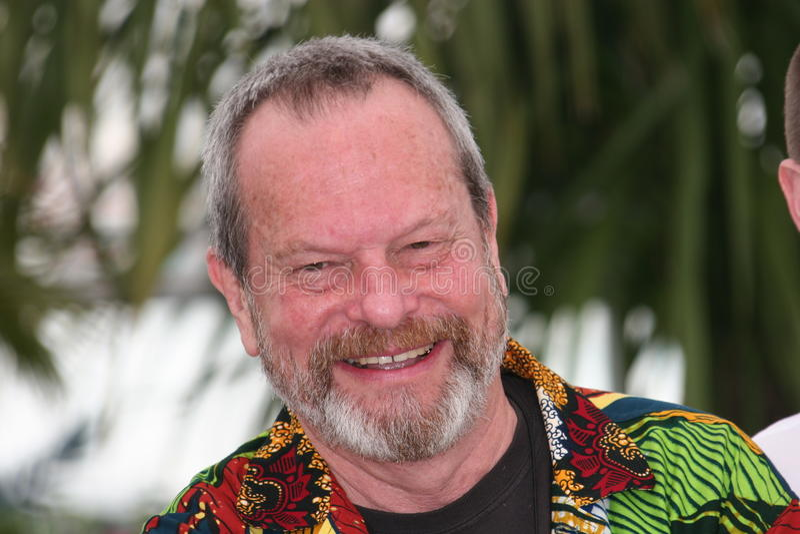 Director Terry Gilliam imagenes de archivo