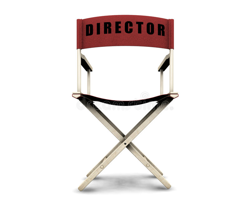 Download Directors Chair Royalty Free Stock Photography - Image: 1756277