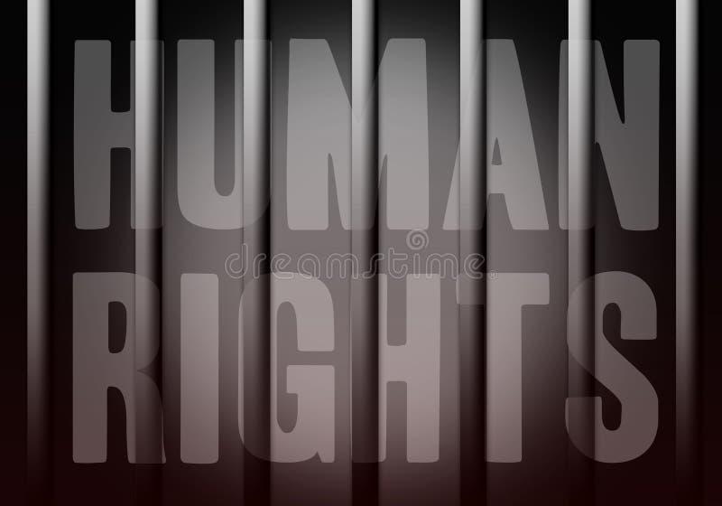 Direitas humanas ilustração do vetor