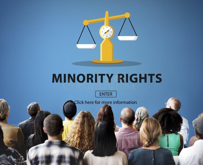 Direitos do julgamento da lei que pesam o conceito legal imagens de stock