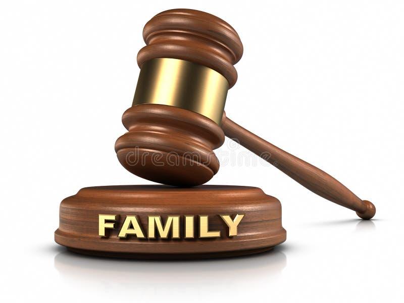 Direitos familiares ilustração do vetor
