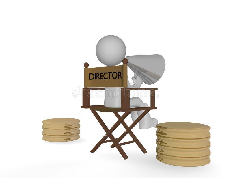 Diretor ilustração stock