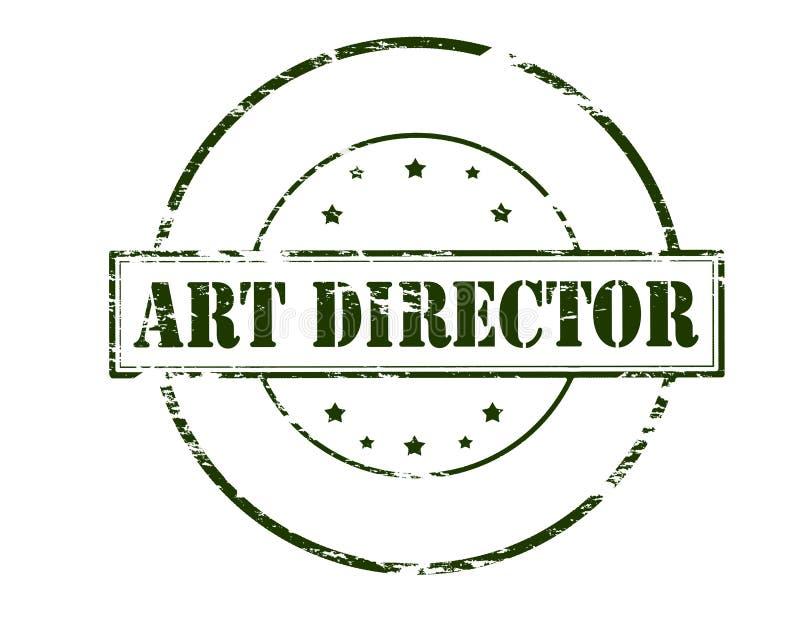 Diretor de arte ilustração royalty free