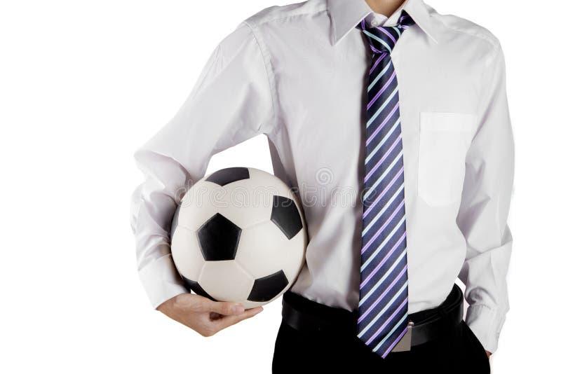 Diretor geral do futebol imagens de stock