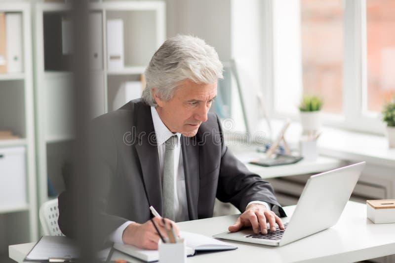 Diretor ocupado imagens de stock royalty free