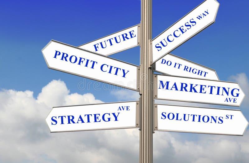 Direttive della gestione immagine stock libera da diritti