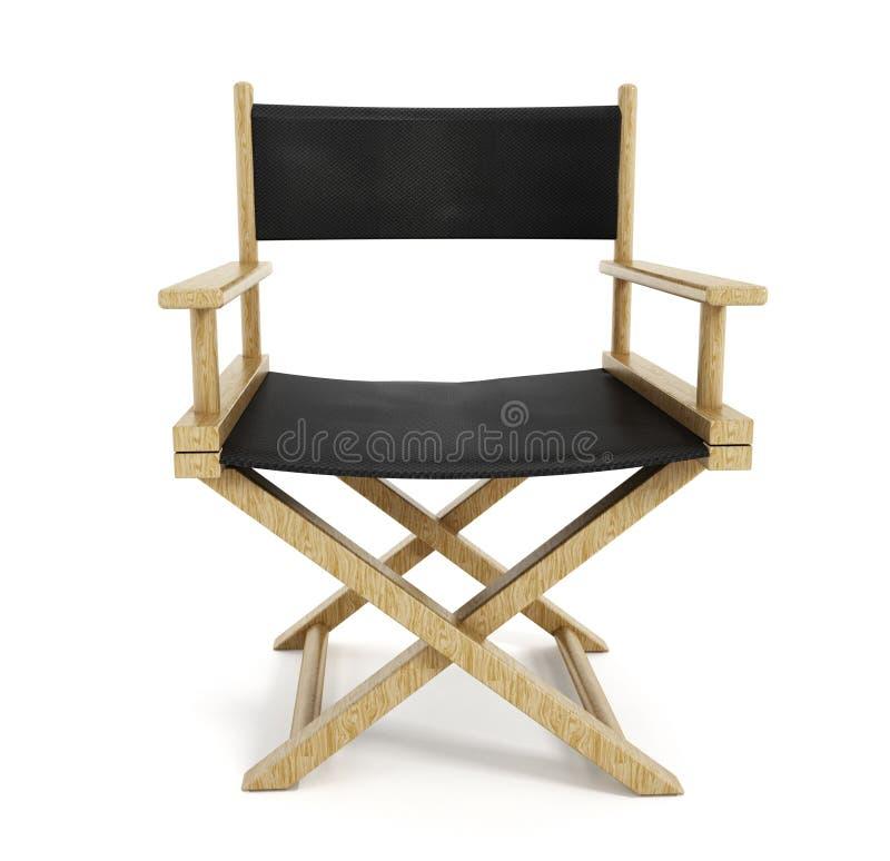 Direttore Chair fotografia stock