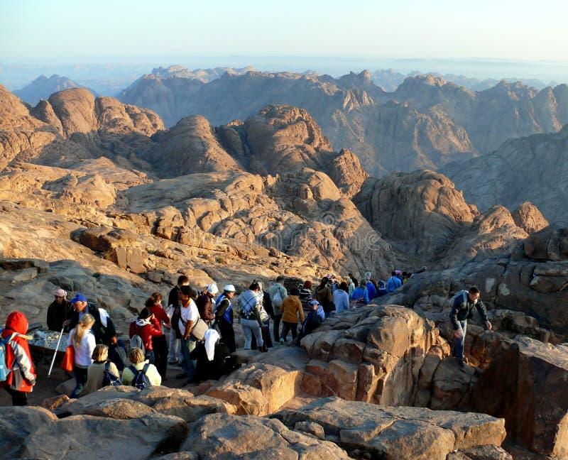 Direzione dal Mt. Sinai immagine stock libera da diritti