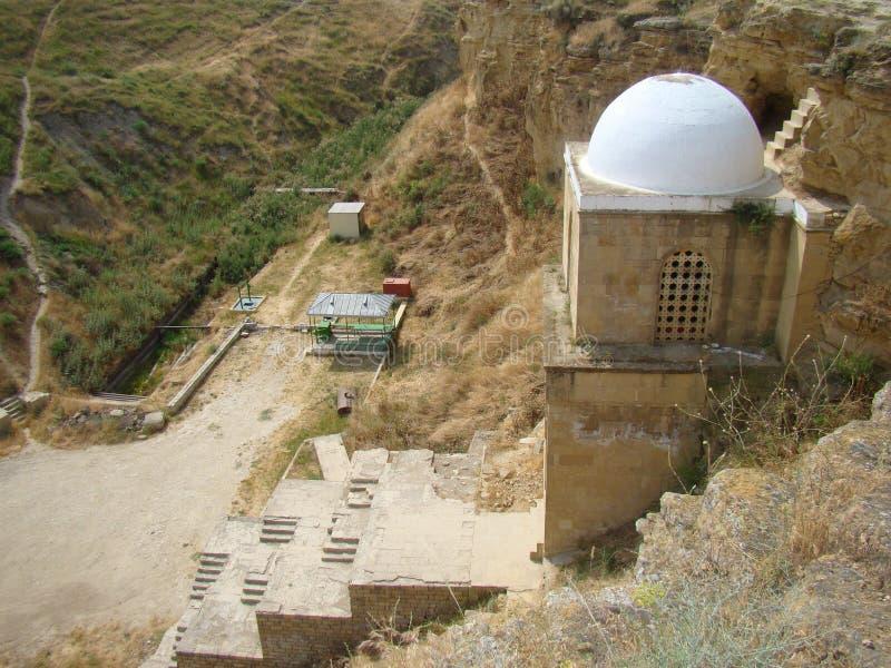 Diri Baba Mausoleum, Azerbajdzjan, Maraza arkivfoton