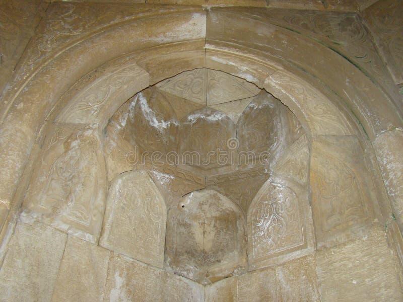 Diri Baba Mausoleum, Azerbajdzjan, Maraza fotografering för bildbyråer