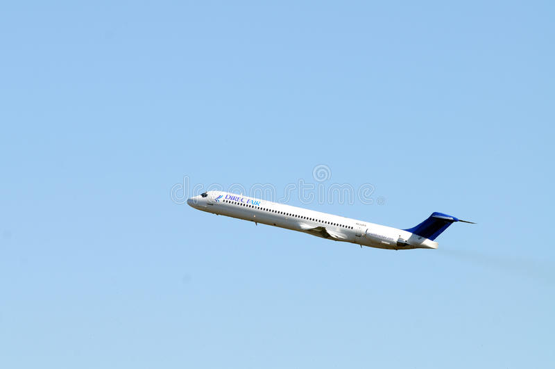 Dirigez l'air MD-83 photographie stock